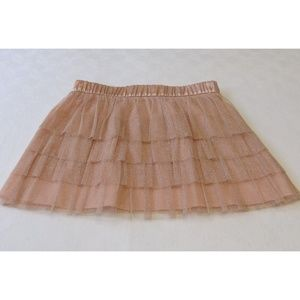 Forever 21 Pink Layered Tulle Skirt